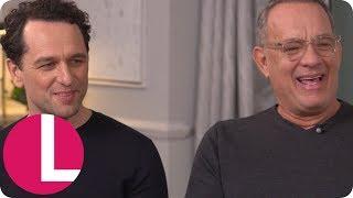 Tom Hanks Surprises Matthew Rhys and Lorraine With His David Attenborough Impression | Lorraine