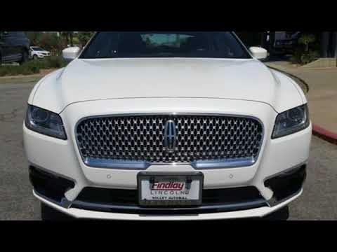 Certified 2017 LINCOLN CONTINENTAL Henderson NV Las Vegas, NV #92317