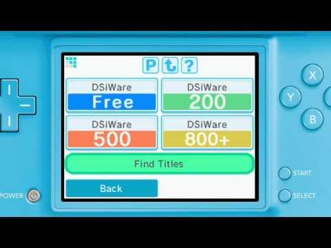 Dsi shop games free download.
