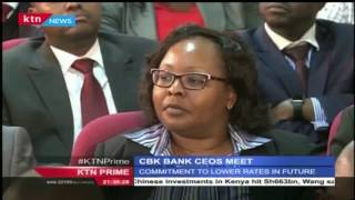 CBK Boss Njoroge meets with Bank Heads to discuss interest rates