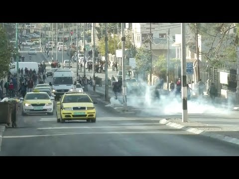 Israeli forces fire tear gas in Bethlehem as protests continue