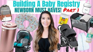CREATE A BABY REGISTRY WITH ME (PT 1) | NEWBORN MUST HAVES 2020 | Amazon Baby Registry Checklist
