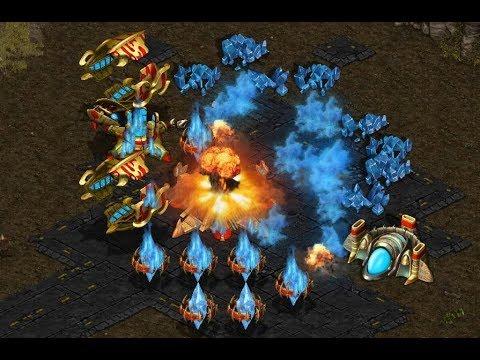 GOSU - BeggarTerran (T) v Rising (P) on Destination - StarCraft  - Brood War REMASTERED