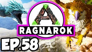 ARK: Ragnarok Ep.58 - BARYONYX DINOSAURS TAME ATTEMPTS, SILICA PEARLS!!! (Modded Dinosaurs Gameplay)