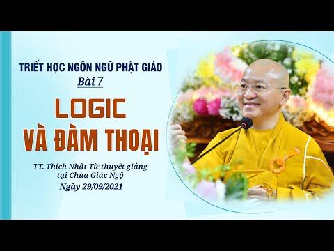 Logic và đàm thoại l Triết học ngôn ngữ Phật giáo
