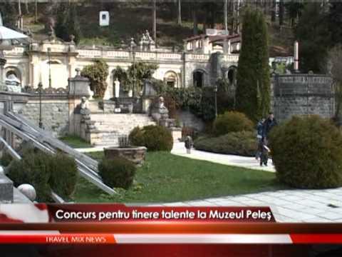 Concurs pentru tinere talente la Muzeul Peleş – VIDEO