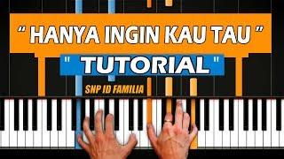Belajar Melodi Keyboard Piano Hanya Ingin Kau Tau