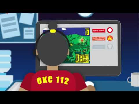 Mobilna aplikacija 112 MNE za hitne pozive