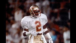 The Most Exciting Player in Florida State History || Deion Sanders Florida State Highlights