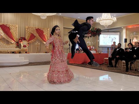 Download Amazing bride & groom first dance at an Indian & Pakistani/Persian wedding! HD Mp4 3GP Video and MP3