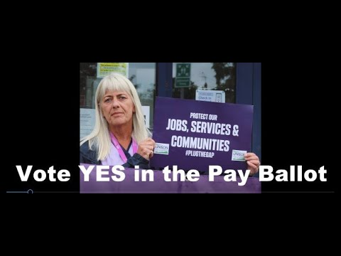 Vote YES in the Pay Ballot