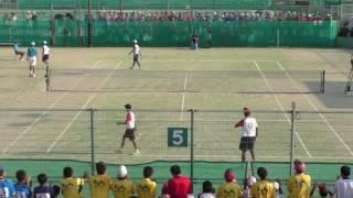『第60回兵庫県中学校総合体育大会ソフトテニス競技男子個人戦』