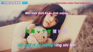 Meng Xing Shi Fen - Ảo Mộng Tình Yêu Nhạc Hoa | 梦醒时分 ( Pinyin kara + Vietsub )