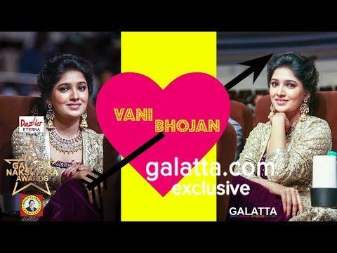 Cutest Moments Part 1 - Vani Bhojan | Galatta Nakshatra Awards