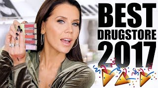 BEST DRUGSTORE MAKEUP of 2017 - Video Youtube