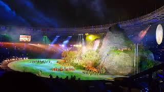 Show Tari Dan Lagu Daerah -  Opening Ceremony 18th ASIAN GAMES 2018