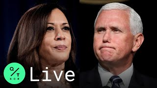 LIVE: Kamala Harris and Mike Pence Face Off in Vice Presidential Debate in Salt Lake City