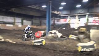 preview picture of video 'Cleveland Fxx @ Ram Jam Indoor MX Sportsplex'