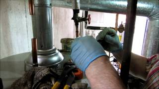 how to replace a 40 gallon gas water heater