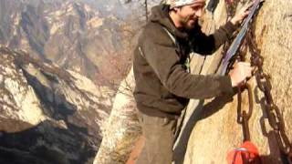 Video : China : A thrilling hike at HuaShan 华山 mountain, ShaanXi province