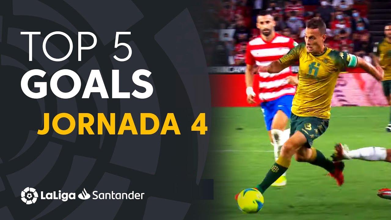 LaLiga TOP 5 Goles Jornada 4