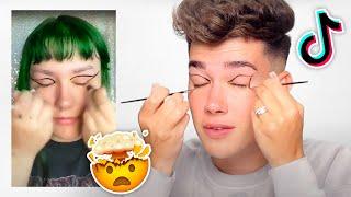 TikTok Makeup Hacks Are CRAZY
