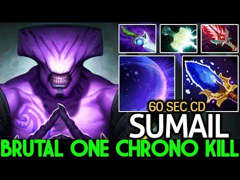 SUMAIL [Faceless Void] Brutal One Chrono Kill Crazy Raid Boss 7.22 Dota 2