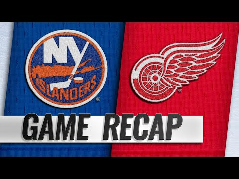 Isles score three unanswered goals to top Red Wings