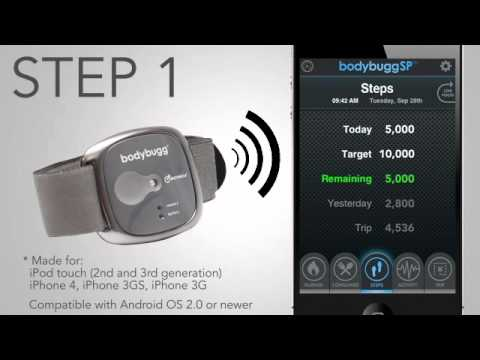 The bodybugg SP™ personal calorie management system