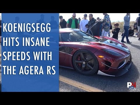 Koenigsegg Hits Insane Speeds With The Agera RS