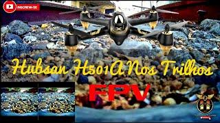 FPV Com Hubsan H501A X4 Air Pro | Na FCA Estação Ferroviária | Campos-Rj | FPV#2