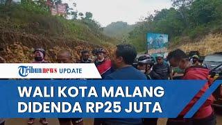 Divonis Langgar Prokes karena Gowes ke Pantai saat PPKM Level 3, Wali Kota Malang Didenda Rp25 Juta