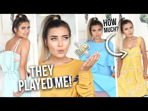 I LET MY SUBSCRIBERS CHOOSE MY OUTFITS! I SPENT £750... YIKES!