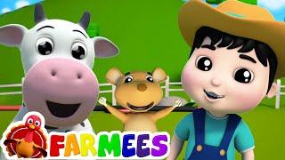 Good Morning Song | Farmees Nursery Rhymes & Songs for Children | Animal Cartoons | Baby Songs