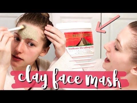 aztec secret indian healing clay mask | demo & review!