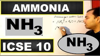 CH05-CHEMISTRY OF CARBON AND NITROGEN-PART14-Ammonia