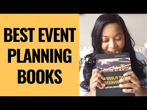 5 BEST EVENT PLANNING BOOKS FOR 2020
