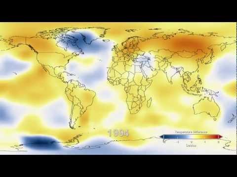 NASA: Six decades of a warming earth
