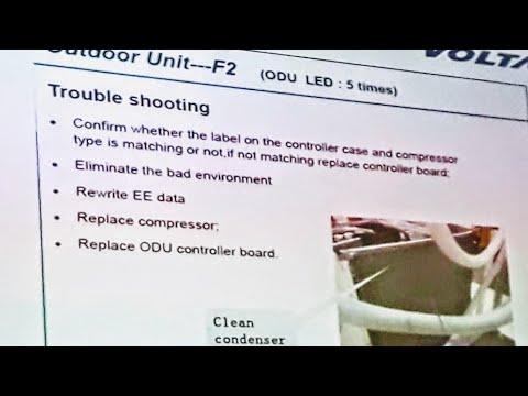 Dc inverter ac error problem solve, E1,E5,F3,F7,F8 - Fully4World