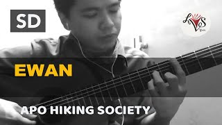 Ewan - APO Hiking Society (solo guitar cover)