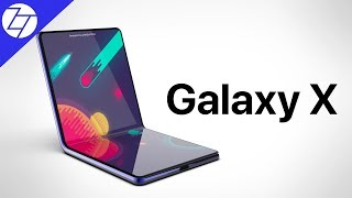 Samsung's Foldable Galaxy X - CONFIRMED!