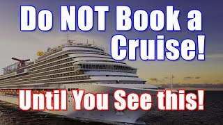 How to get the best deal on a Cruise! Don't book a cruise until you watch this!