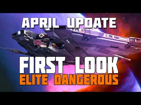 Elite Dangerous - First Look - April Update: Interstellar Initiatives, Beginners Zone