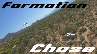 FPV RC P-47 Chase