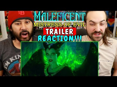 MALEFICENT 2: Mistress Of Evil | TRAILER - REACTION!!!