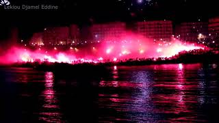 preview picture of video 'mouloudia Craquage de fumigène [full HD] Bab El Oued  لفيميجان'