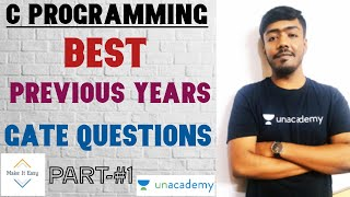 C Programming: Previous Years Gate Questions || Part-1