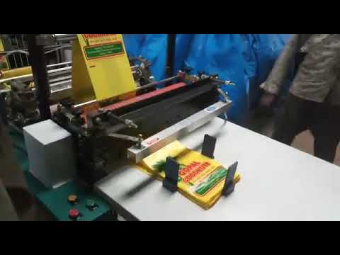 Biodegrable carry bag Making Machine