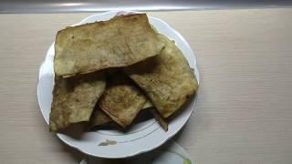 Чебуреки из лаваша/Ленивые чебуреки)