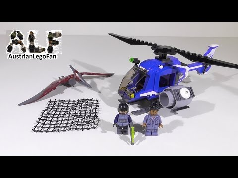 Vidéo LEGO Jurassic World 75915 : La capture du Ptéranodon